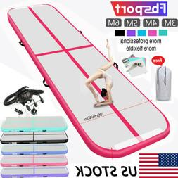 10/13/16/20ft Inflatable Air Track Yoga Floor Home Gymnastic