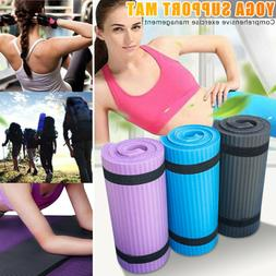 15MM Small Yoga Mat Thick Non-slip Durable Exercise Fitness