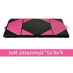 "4'x6'x2"" Gymnastic Exercise Sports Exercise Mat Yoga Workout"