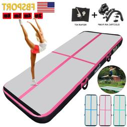 4in/8in Airtrack Inflatable Air Track Floor Gymnastics Yoga