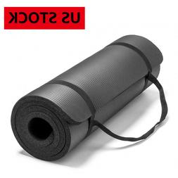 """72"""" X 24"""" Yoga Mats Pilates Fitness For Exercise Woukout Wit"""