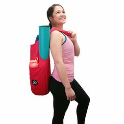 Axelup Yoga Mat Bag Large Carry Tote w/Shoulder Sling Storag