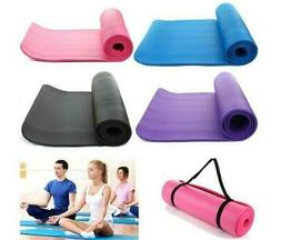 Colorful 15mm Thick Non-slip Yoga Mat Pad Exercise Fitness P
