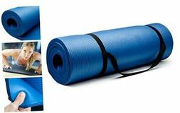 Crown Sporting Goods 5/8-Inch Extra Thick Yoga Mat with No S