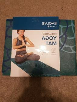 Evolve by Gaiam Foldable Yoga Mat Super Compact Ultra-Lightw