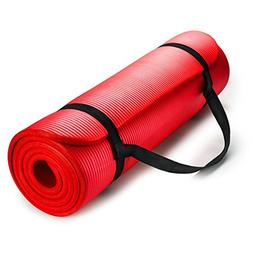 HemingWeigh 1/2-Inch Extra Thick High Density Exercise Yoga