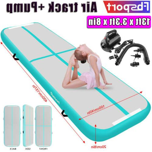 13ftx3 3ftx8inch 4m air track inflatable gym
