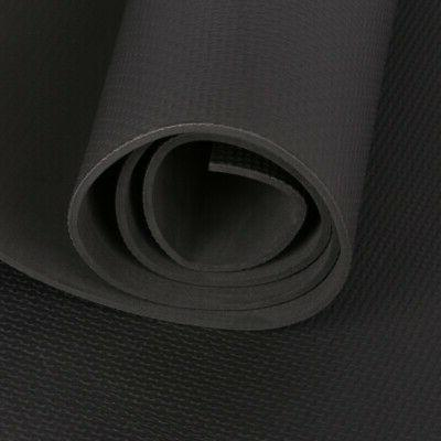 4mm Yoga Mat Large Gym Fitness Pilates Sports
