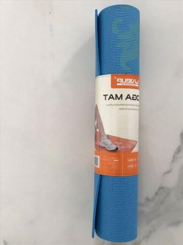Athletic yoga mat with Blue-Color-6mm Same day Shipping