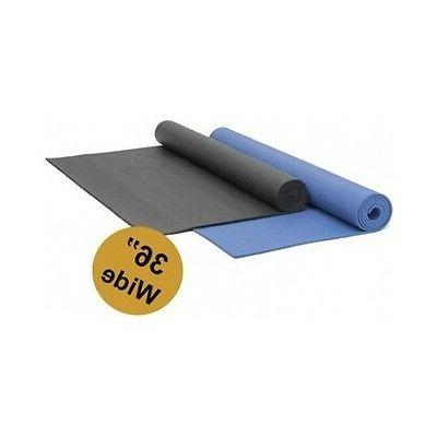 deluxe yoga mat extra wide 1 4