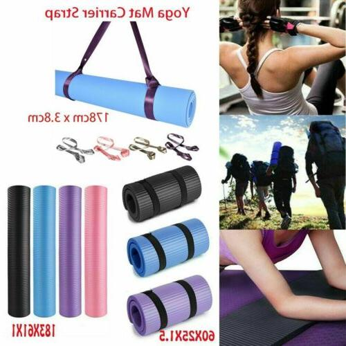 exercise yoga mat thick fitness meditation camping