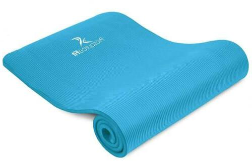 extra thick yoga and pilates mat a12a