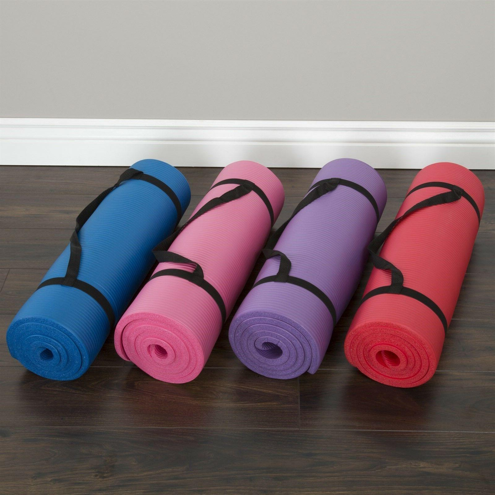 Fitness Yoga Thick Foam Inches Colors