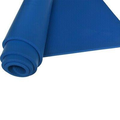 Foam NBR 1/2-Inch Extra Long Exercise and