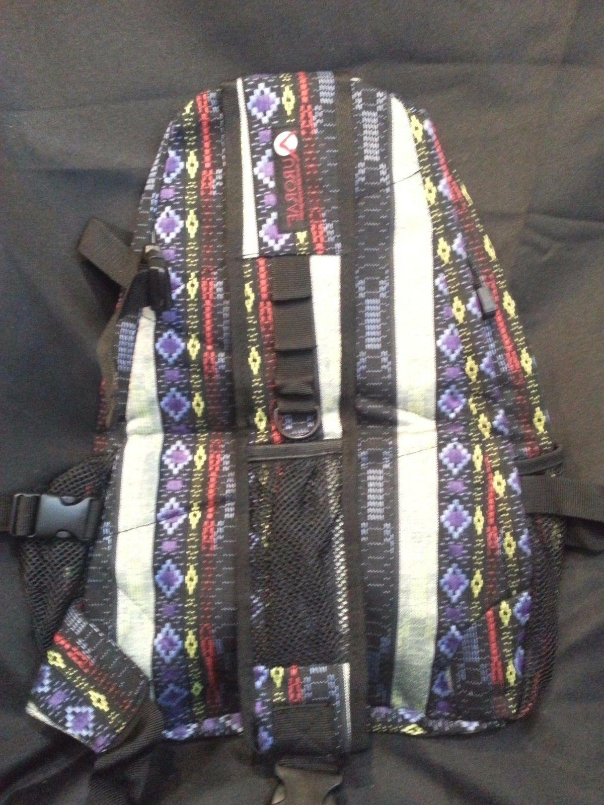 Multi Aurorae Mat Backpack Cross Backpack NEW