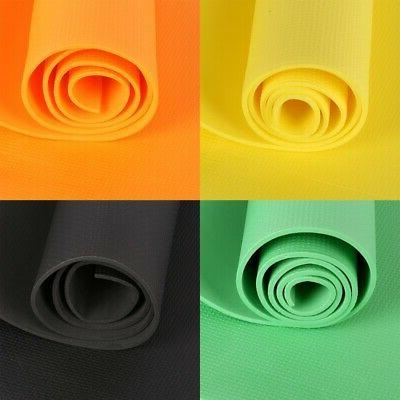 4MM Yoga Mat Thick Non-slip Durable Exercise Fitness Gym Ext