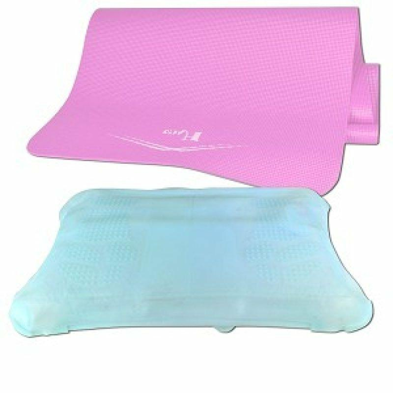 Yoga Wii Fit Deluxe Silicone Cover Massaging bundle