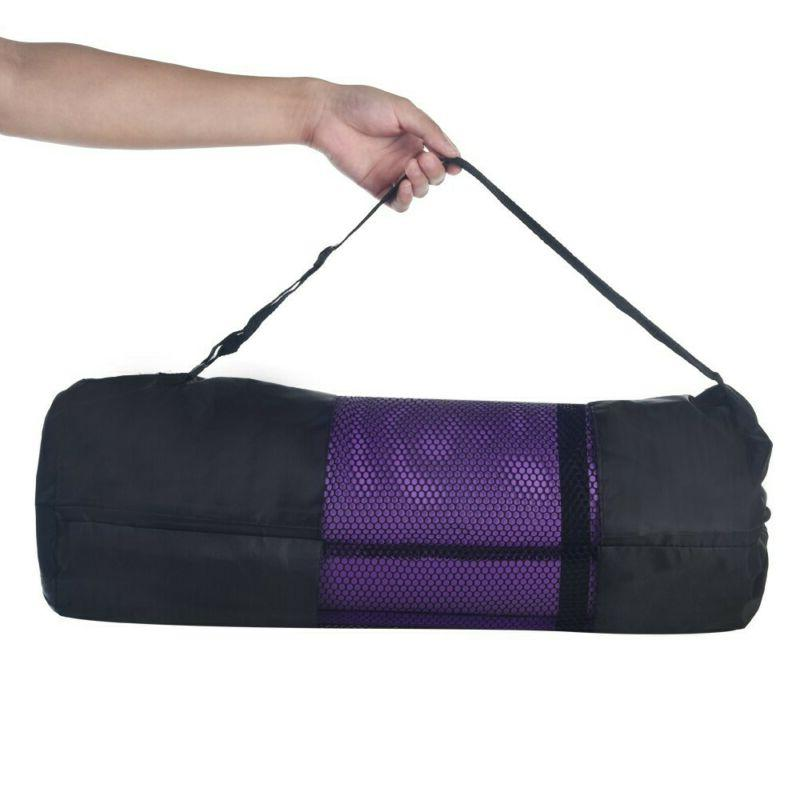 Yoga Mats 0.4 Inches Thick Exercise Gym Mat Non Slip With Ca