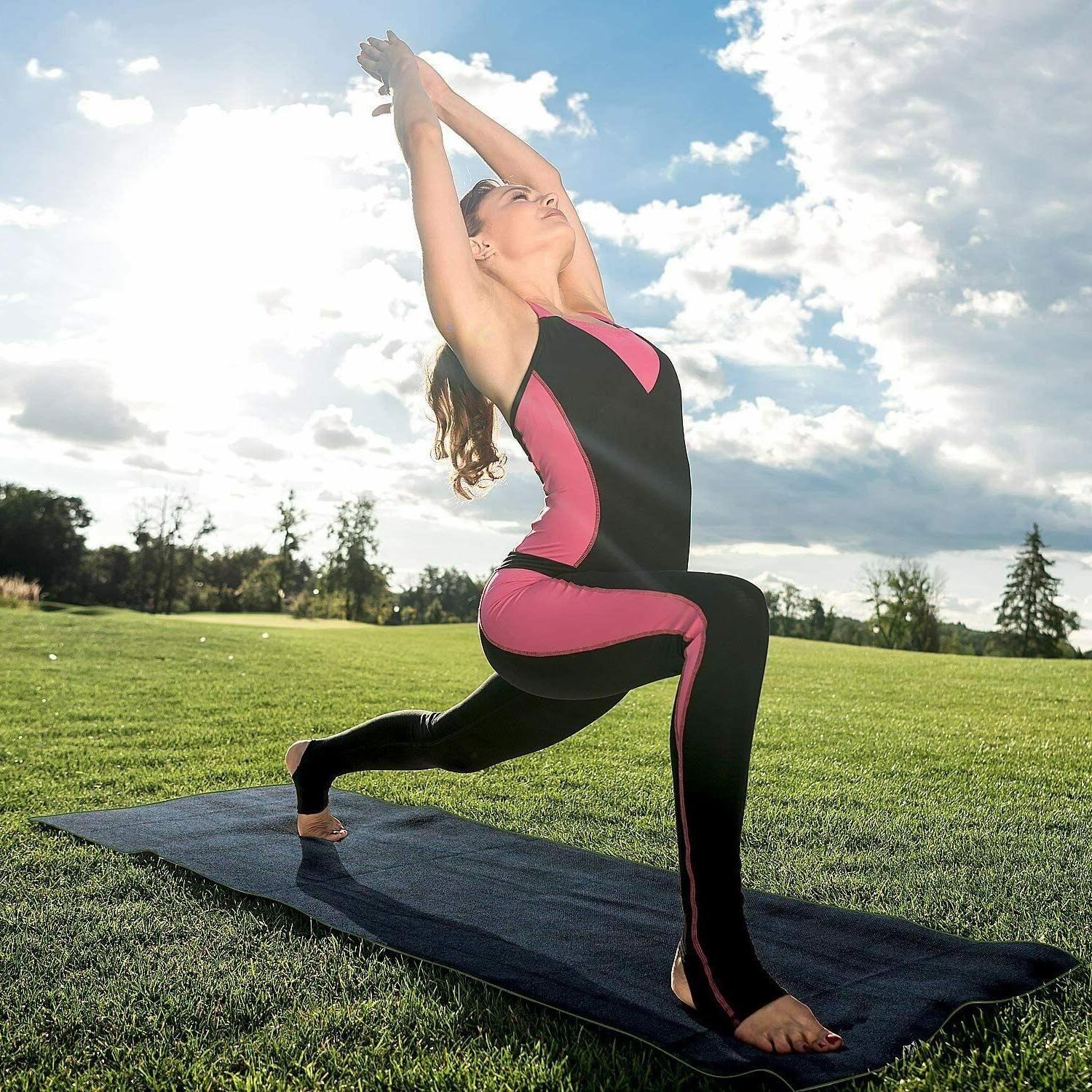 Yoga Slip Sweat Absorbent Quick Drying Eco Friendly