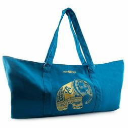 Large Yoga Mat Gym Exercise Carrier Tote Bag,Keep your hands