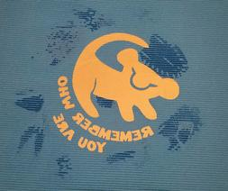 Lion King Simba Yoga Mat, Remember Who You Are, Disney