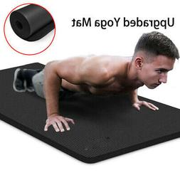 Luck-Fitness Yoga Mat Non-Slip 10mm Pad Sport Home Workouts