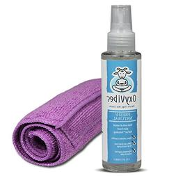All Natural & Organic Yoga Mat Cleaner with 1 MicroFiber Tow