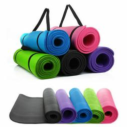 THICK 10mm/8mm  Exercise Yoga Mat Gym Workout Fitness Pilate