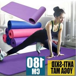 THICK FOAM EXERCISE Yoga Mat Gym Workout Fitness Pilates Pad