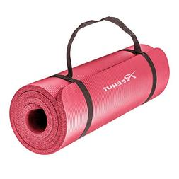 Thick Non-slip Yoga Mat Pad Cushion Fitness Pilates Exercise