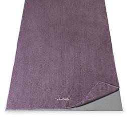Thirsty Yoga Towel in Smokey Purple