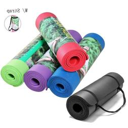 US Extra Thick Non-slip Yoga Mat Pad Exercise Fitness Pilate