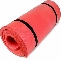Yoga Cloud 1-inch Ultra Thick Exercise Fitness Mat | Camping