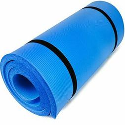 """Crown Sporting Goods Yoga Cloud Ultra-Thick 1"""" Yoga and Exer"""