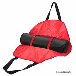 Crown Sporting Goods Yoga Mat Cargo Carrier with Adjustable
