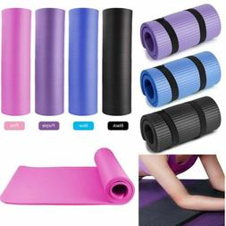 Yoga Mat Thick Non-slip Durable Exercise Fitness Gym Extra M