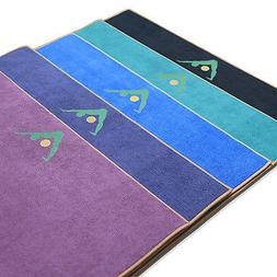 """Aurorae Yoga Towel / Mat, """"Synergy"""" Patented 2 in 1 Slip Fre"""